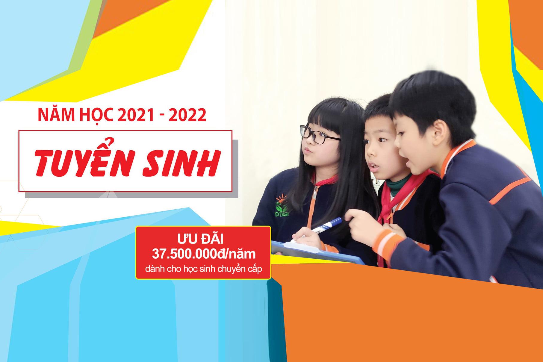 Tuyển sinh năm học 2021-2022